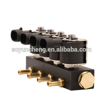 Yuncheng autogas rail injectors for lpg