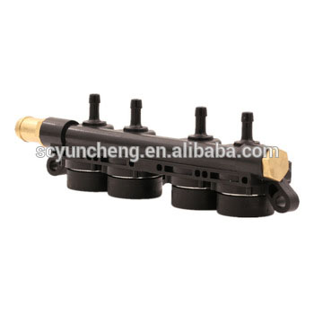 YCI02001 4 Cylinder Fast Response Lpg Cng Injector Rail